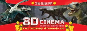 Đầm Sen ra mắt rạp chiếu phim mới công nghệ 8D của Mỹ